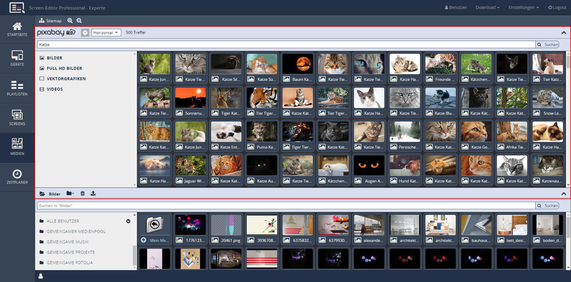 integrierte_foto_video-Datenbank