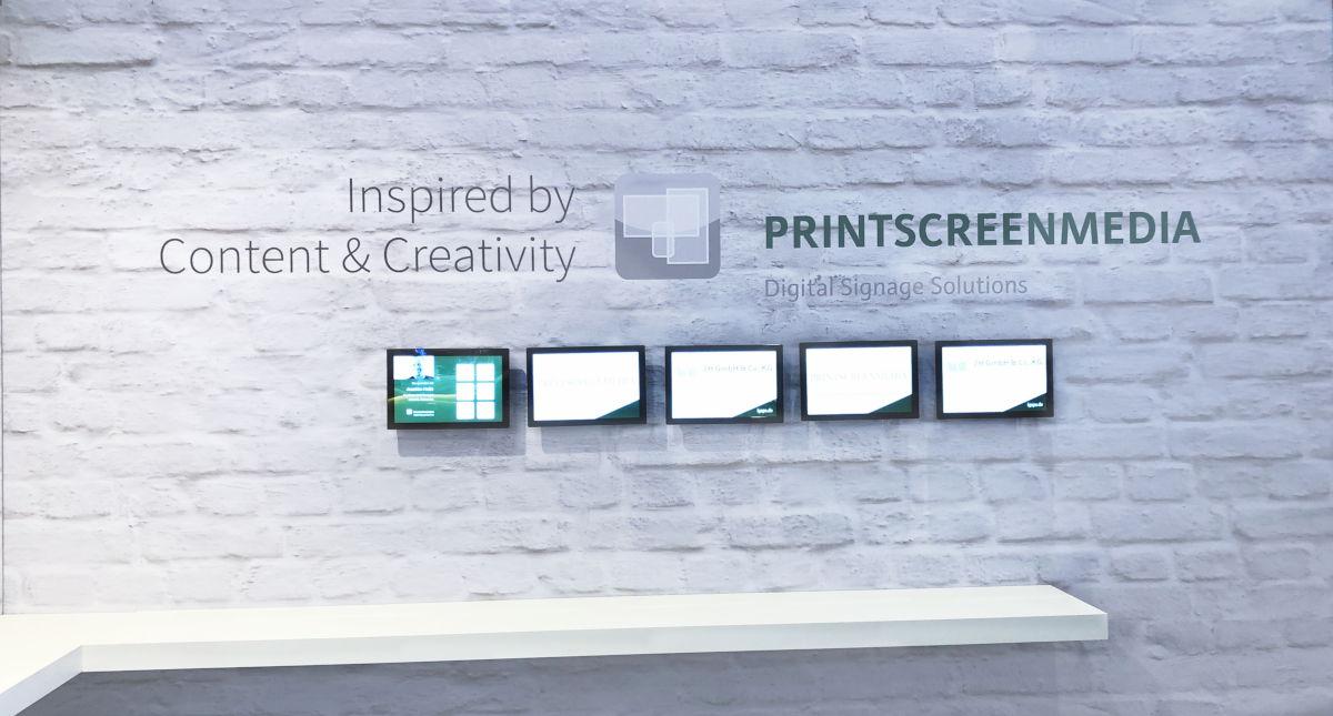 2H GmbH Printscreenmedia Content Partner System Integrator ISE 2019 Amsterdam