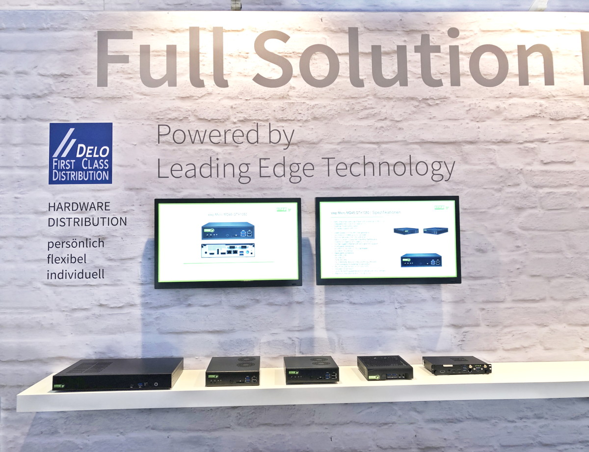 DELO Computer GmbH Hardware Partner Integrated Systems Europe 2019 Amsterdam
