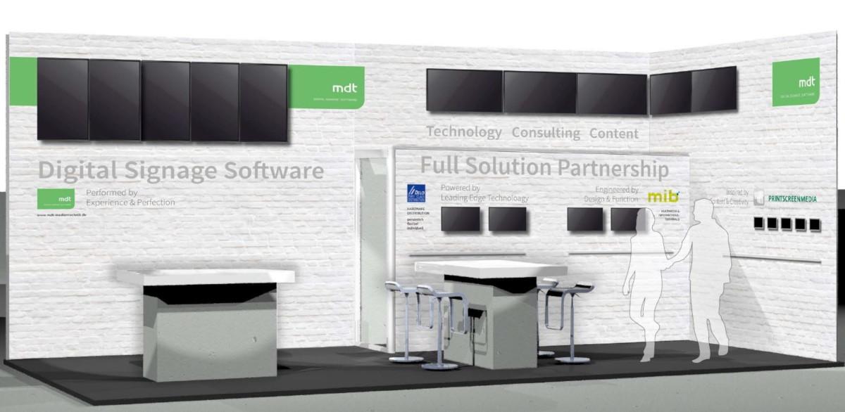 ISE 2019 Amsterdam MDT Partner Stand DS Lösungen