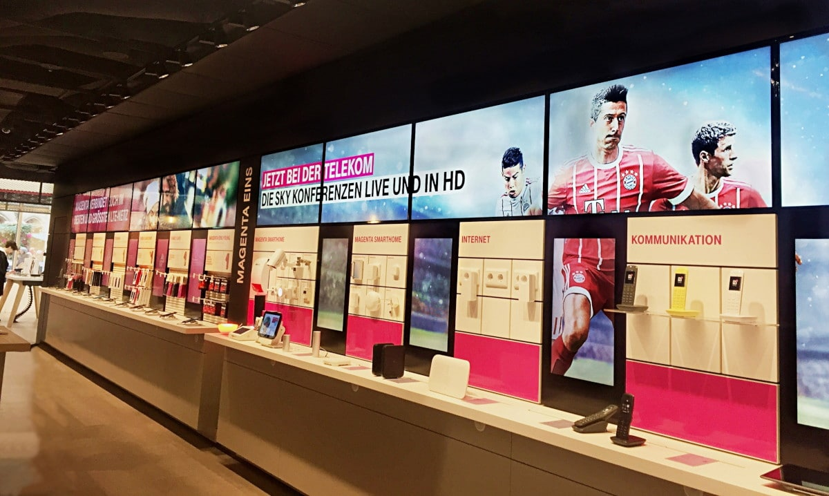 Telekom digital signage software by mdt