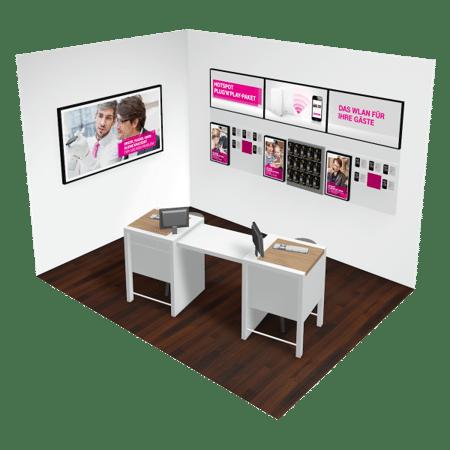 Ladenkonzept Digital Signage Deutsche Telekom Flagship Store