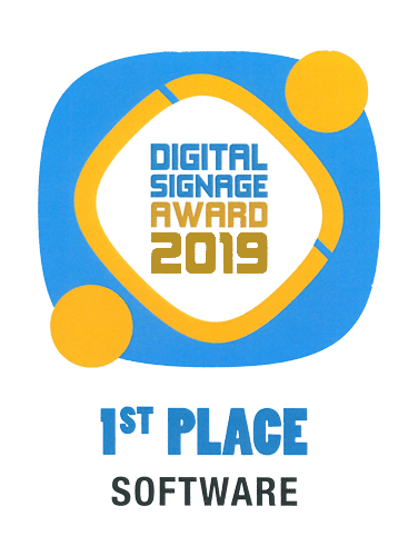 mdt Medientechnik Software Sieger Invidis Digital Signage Award 2019